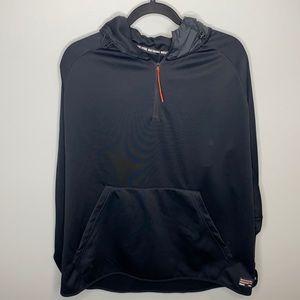 Nike F.C Soccer 1/4 Zip Hoodie (Black)